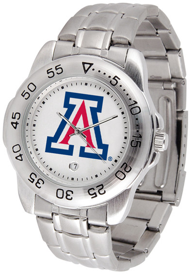 Arizona Wildcats Men's Sport Steel Watch