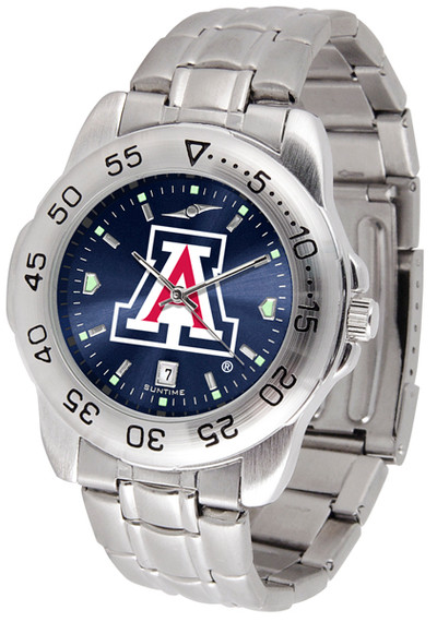 Arizona Wildcats Sport Steel AnoChrome Watch