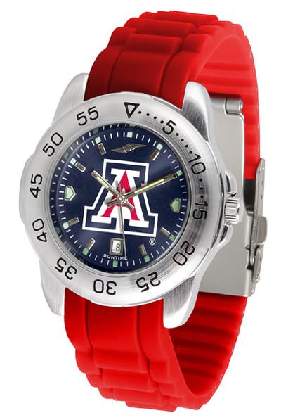 Arizona Wildcats Men's Sport AC AnoChrome Watch | SunTime | ST-CO3-AZW-SPORT-AC