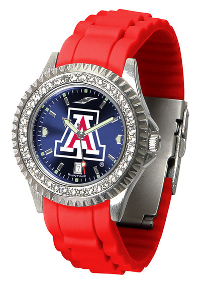 Arizona Wildcats Ladies Sparkle Watch