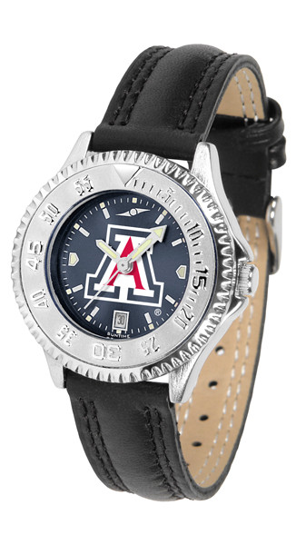 Arizona Wildcats Ladies Competitor AnoChrome Watch