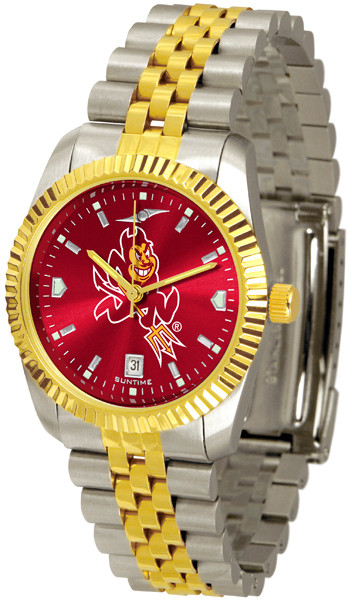 Arizona State Sun Devils Men's Executive AnoChrome Watch | SunTime | ST-CO3-ASD-MEXT-A