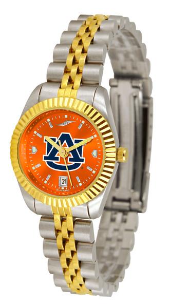 Auburn Tigers Ladies Premier Executive AnoChrome Watch | SunTime | ST-CO3-AUT-LEXT-A
