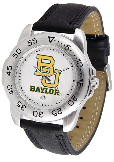 Baylor Bears Men's Sport Leather Watch