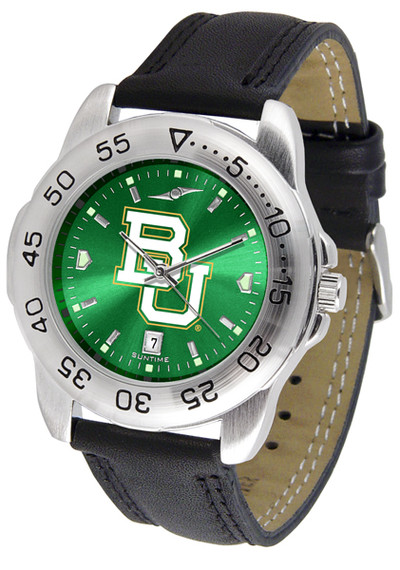 Baylor Bears Men's Sport Leather AnoChrome Watch