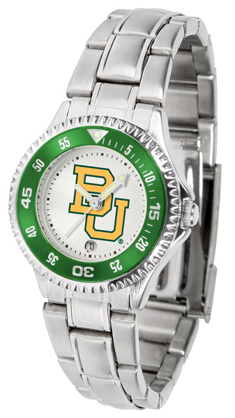 Baylor Bears Ladies Competitor Steel Watch