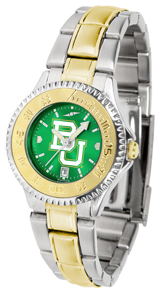 Baylor Bears Ladies Competitor Two-Tone AnoChrome Watch
