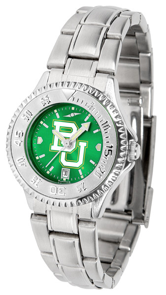 Baylor Bears Ladies Competitor Steel AnoChrome Watch