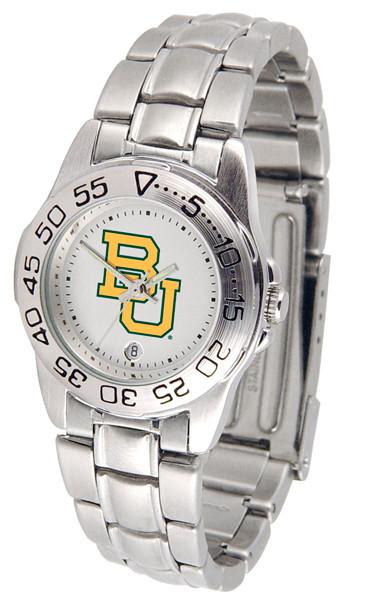 Baylor Bears Ladies Sport Steel Watch