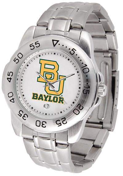 Baylor Bears Men's Sport Steel Watch