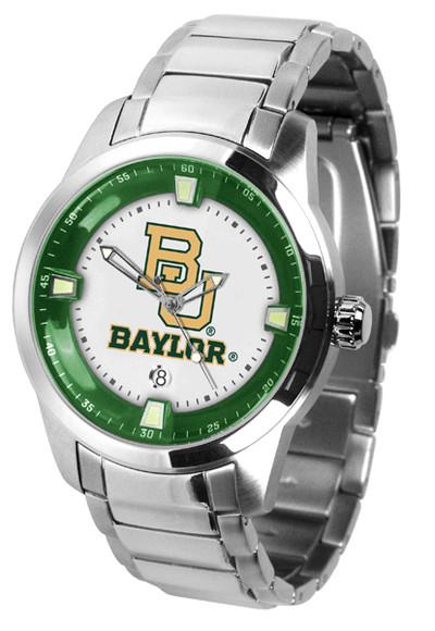 Baylor Bears Men's Titan Steel Watch