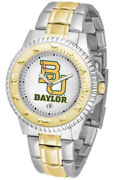 Baylor Bears Men's Competitor Two-Tone Watch