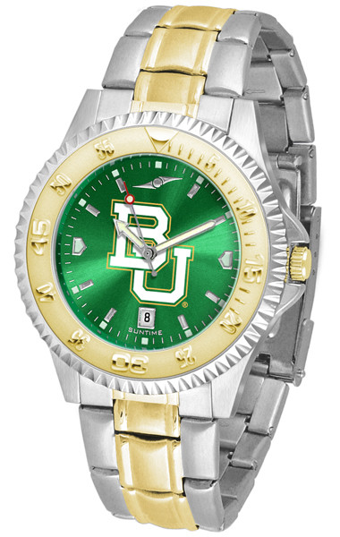 Baylor Bears Men's Competitor Two-Tone AnoChrome Watch