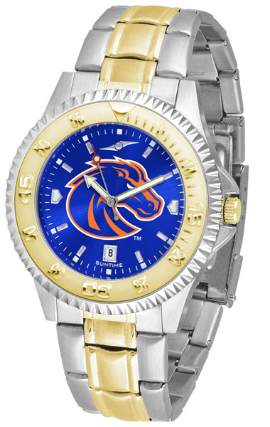 Boise State Broncos Men's Competitor Two-Tone AnoChrome Watch