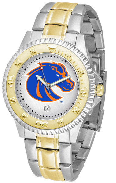 Boise State Broncos Men's Competitor Two-Tone Watch