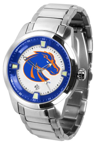 Boise State Broncos Men's Titan Steel Watch