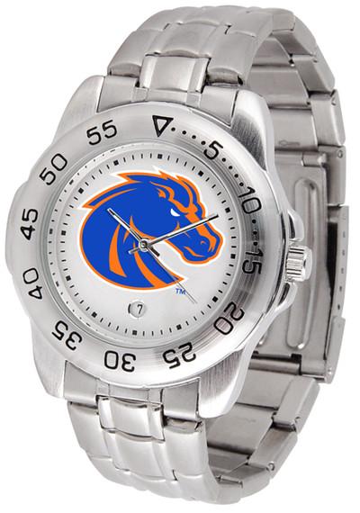 Boise State Broncos Men's Sport Steel Watch
