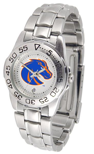 Boise State Broncos Ladies Sport Steel Watch | SunTime | ST-CO3-BSB-SPORTLM