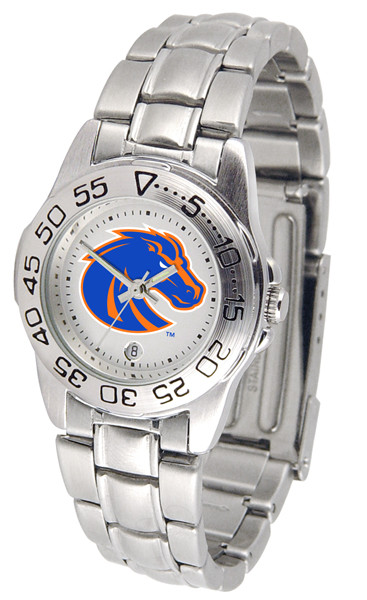 Boise State Broncos Ladies Sport Steel Watch | SunTime | ST-CO3-BSB-SPORTLM