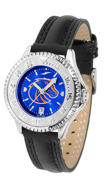Boise State Broncos Ladies Competitor AnoChrome Watch | SunTime | ST-CO3-BSB-COMPL-A