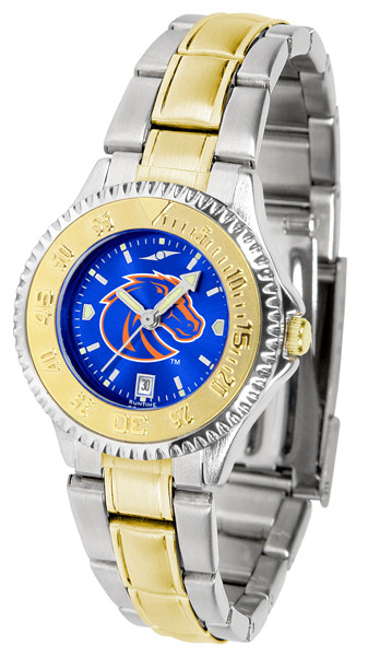 Boise State Broncos Ladies Competitor Two-Tone AnoChrome Watch