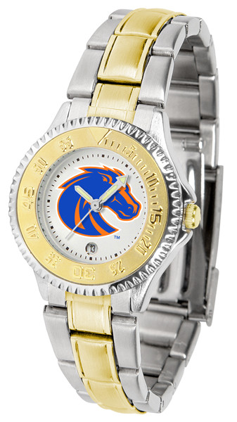 Boise State Broncos Ladies Competitor Two-Tone Watch