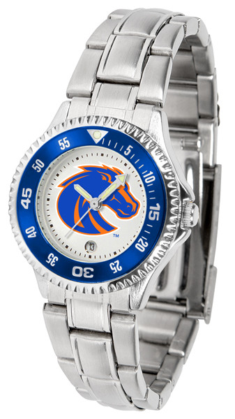Boise State Broncos Ladies Competitor Steel Watch