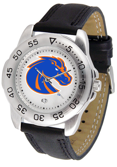 Boise State Broncos Men's Sport Leather Watch
