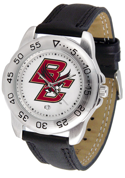 Boston College Eagles Men's Sport Leather Watch