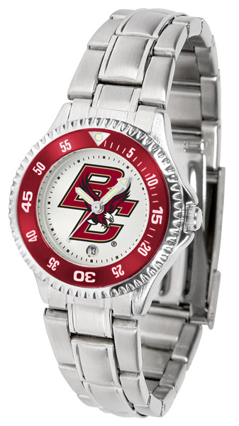Boston College Eagles Ladies Competitor Steel Watch