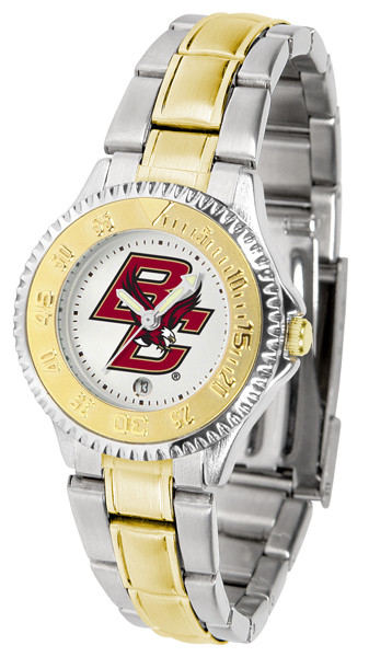 Boston College Eagles Ladies Competitor Two Tone Watch