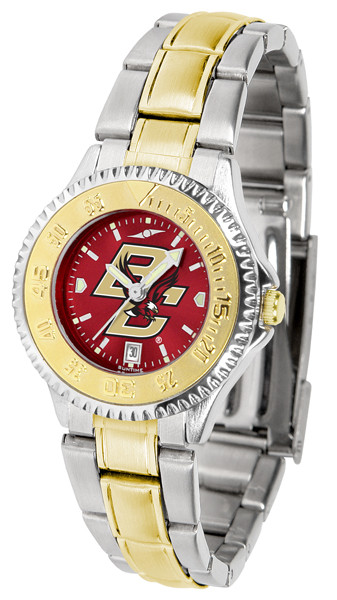 Boston College Eagles Ladies Competitor Two-Tone AnoChrome Watch