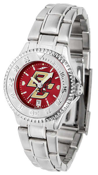 Boston College Eagles Ladies Competitor Steel AnoChrome Watch