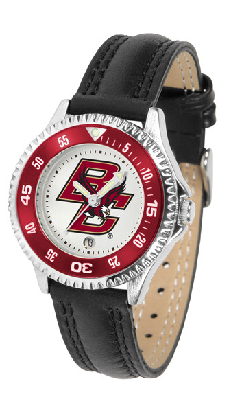 Boston College Eagles Ladies Competitor Sport Leather Watch