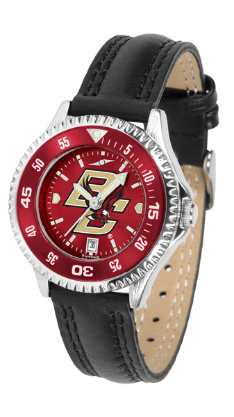 Boston College Eagles Ladies Competitor AnoChrome Watch with Color Bezel