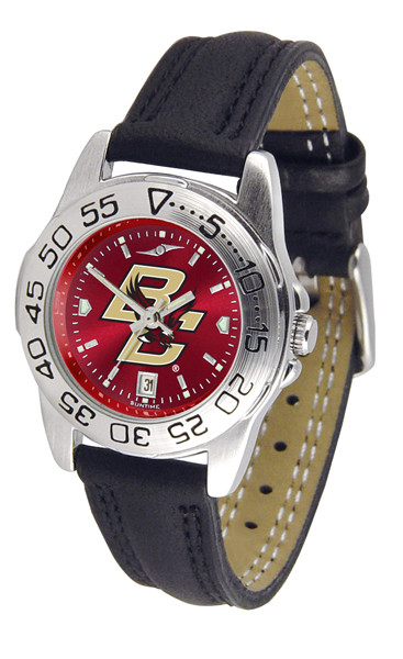 Boston College Eagles Ladies Sport Leather AnoChrome Watch