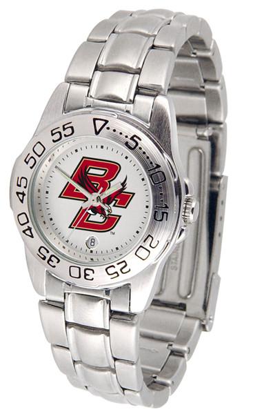 Boston College Eagles Ladies Sport Steel Watch