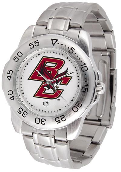 Boston College Eagles Men's Sport Steel Watch
