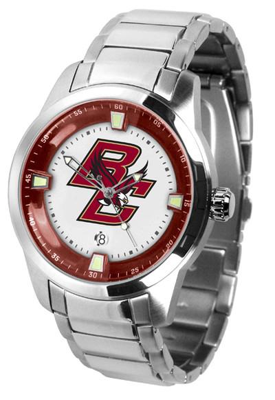 Boston College Eagles Men's Titan Steel Watch