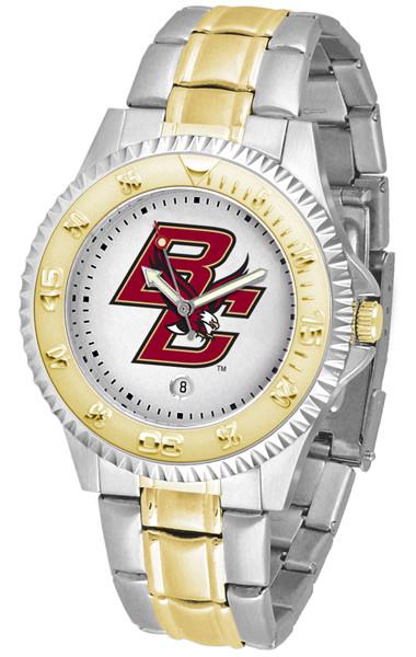Boston College Eagles Men's Competitor Two-Tone Watch
