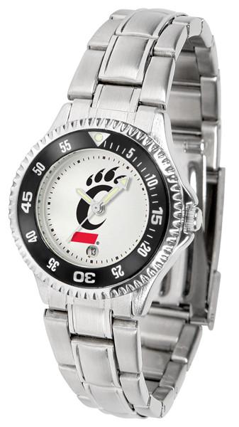 Cincinnati Bearcats Ladies Competitor Steel Watch