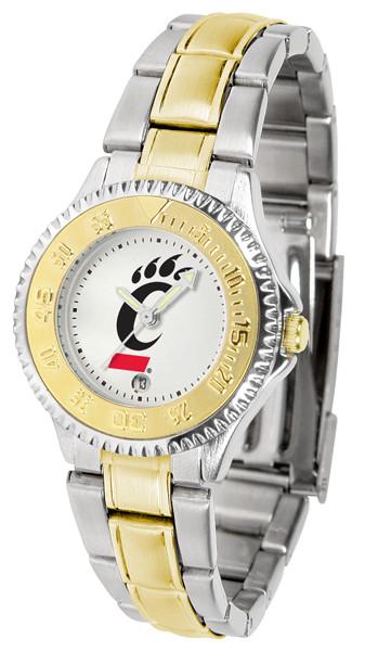 Cincinnati Bearcats Ladies Competitor Two-Tone Watch
