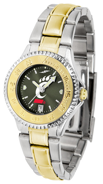 Cincinnati Bearcats Ladies Competitor Two-Tone AnoChrome Watch