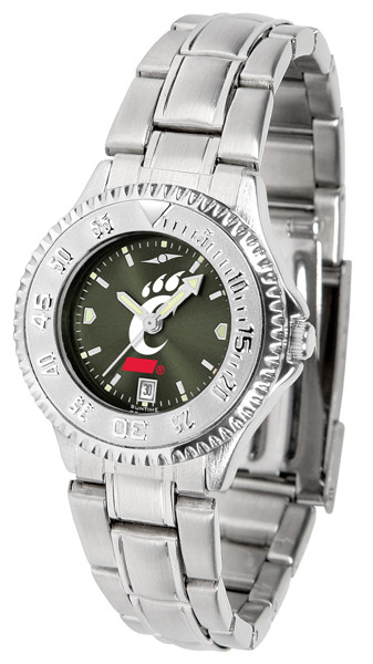 Cincinnati Bearcats Ladies Competitor Steel AnoChrome Watch
