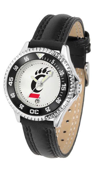 Cincinnati Bearcats Ladies Competitor Sport Leather Watch
