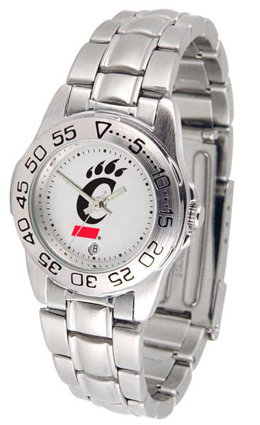 Cincinnati Bearcats Ladies Sport Steel Watch