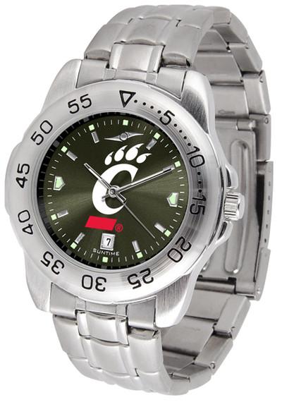 Cincinnati Bearcats Sport Steel AnoChrome Watch