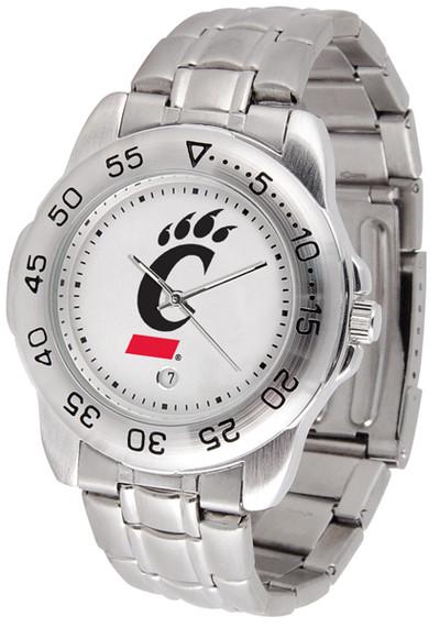 Cincinnati Bearcats Men's Sport Steel Watch