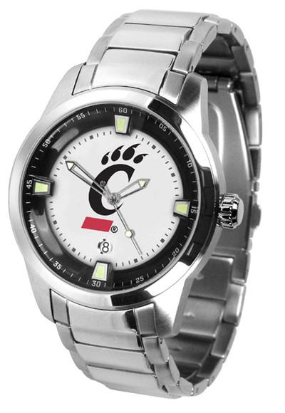 Cincinnati Bearcats Men's Titan Steel Watch
