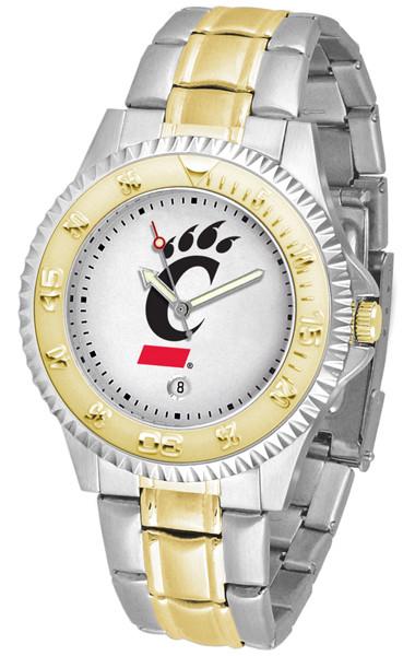 Cincinnati Bearcats Men's Competitor Two-Tone Watch